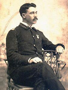 Sgt. Charles McCague, 157th Indiana Vol. Inf.