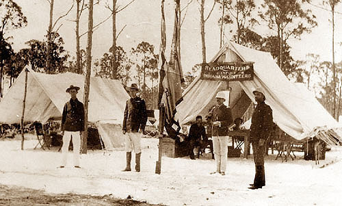 157th Indiana Volunteer Infantry Headquarters, Florida
