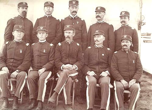 Officers of the 1st Idaho Volunteer Infantry, 1898