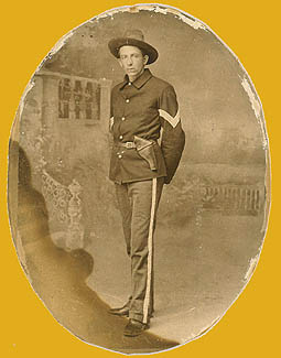 Sgt. Alfred Hall, 1st Ohio Volunteer Infantry, 1898