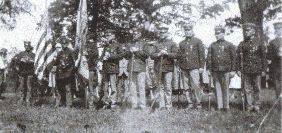 Spanish American Veterans at Amityville, Pennsylvania