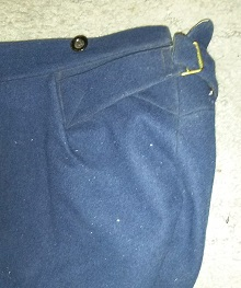 Trouser Detail, 1st South Dakota Volunteer Infantry