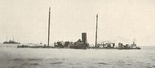 The wreck of the Castilla