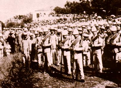 Spanish defenders of Guayama