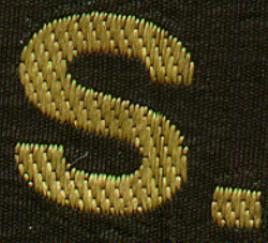 Hat Band - Embroidered Letters
