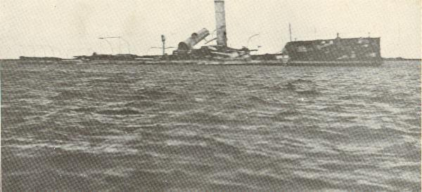 The wreck of the Reina Cristina