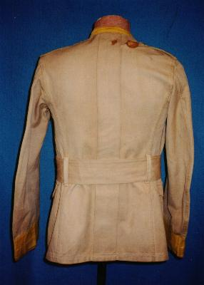 Rough Rider tunic - rear view