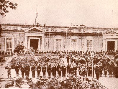 U.S. Flag-raising in Santiago